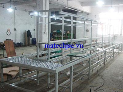 Băng truyền xích lắp tại Nghệ An