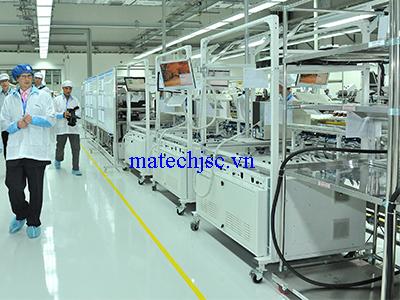 Dây truyền tự động sản xuất linh kiện điện thoại